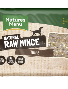 Natures Menu Tripe Block 400g Front of Pack