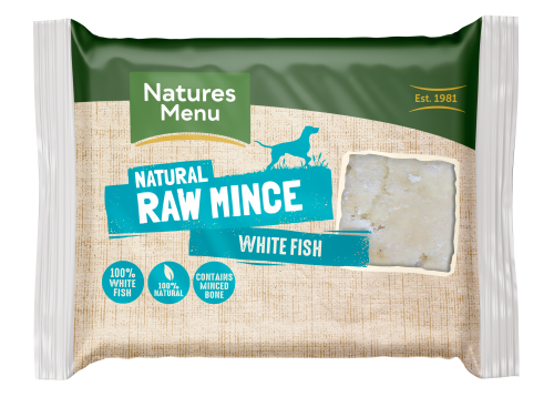 Natures Menu Fish Block 400g Front of Pack