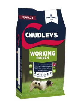 Chudleys Working Crunch 15kg Bag