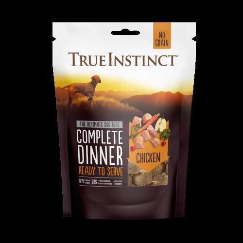 True Instinct Freeze Dried Chicken Dinner 120g Front of Pack