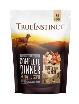 True Instinct Freeze Dried Turkey Dinner 120g Front of Pack