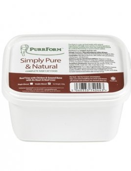Purrform Beef Trim 450g Tub