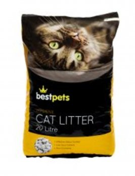 Bestpets Hygiene Cat Litter 20 Litres Front of Pack