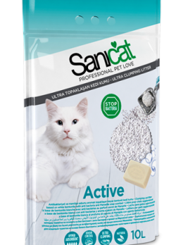 Sanicat Active Front of Pack