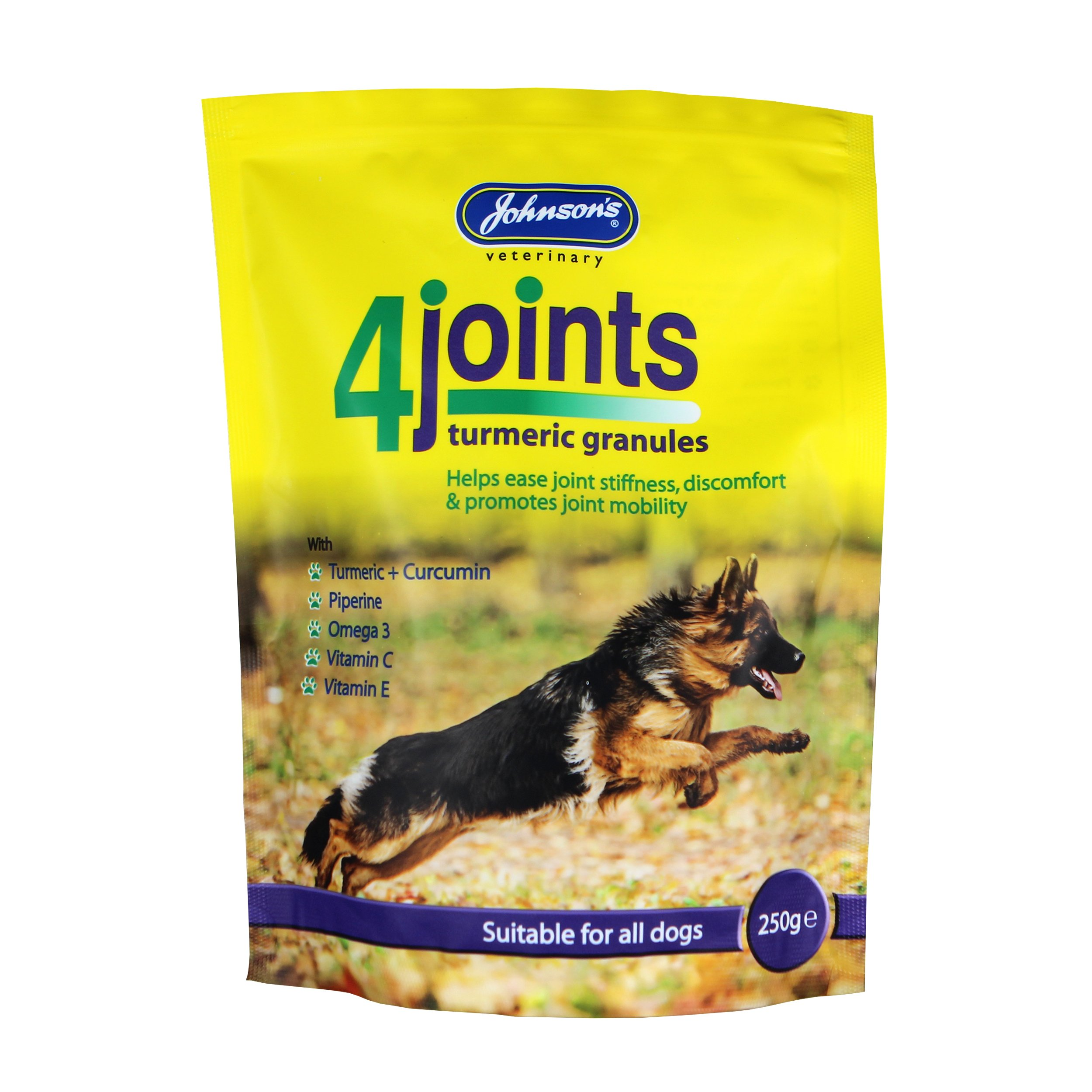 Johnson's 4joints turmeric granules front of pack