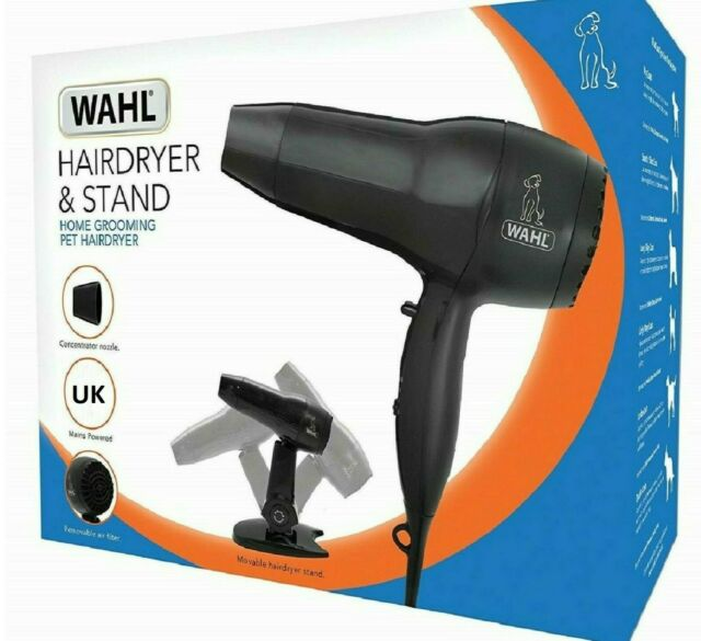Wahl Pet Hairdryer with Stand Front of Pack