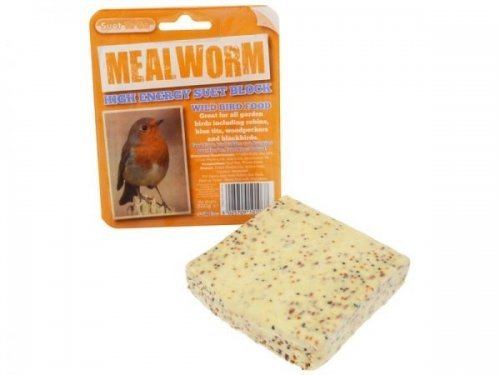 Suet to Go Suet Block with Mealworms