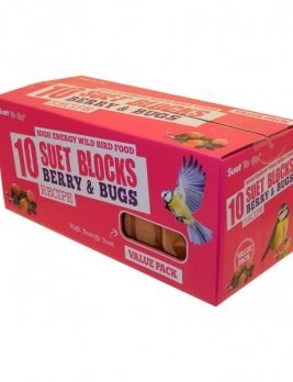 Suet to Go Suet Block Berry Pack of 10